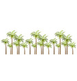 palm trees for your business vector image vector image