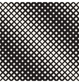 Seamless Black And White Diagonal Halftone vector image vector image