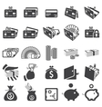 Set of money icons vector | Price: 1 Credit (USD $1)