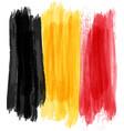 grunge belgium flag vector image