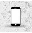 Modern simple flat telephone icon vector image