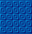 Abstract background blue tiles vector image
