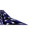 american flag decor 4th july celebration vector image vector image