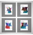 Brochure Flyer design Layout template size vector image vector image