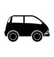 car vehicle isolated icon vector image vector image