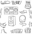 collection stock of doodle music vector image vector image