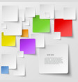 Color square tiles abstract background