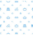 harvest icons pattern seamless white background vector image vector image
