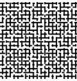 maze seamless pattern vector image