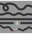 Set of Cables Damaged Cable vector image vector image