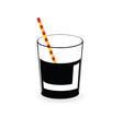 drink juice color vector image