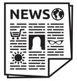 News icon women stuff vector image