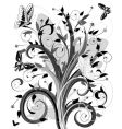 abstract tree vector image