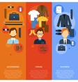 Business Man Clothes vector image vector image