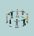 business work for success isometric vector image vector image