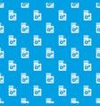 web setting pattern seamless blue vector image