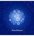 merrry christmas vector image