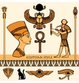 Egypt Color Set vector image vector image