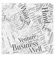 entrepreneur scan Word Cloud Concept vector image vector image
