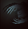 ghostly claws vector image