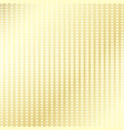 gold checkered background vector image vector image