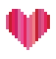 heart cartoon icon image vector image vector image