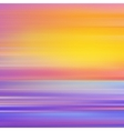 Abstract background with sunset vector image
