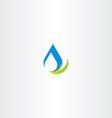 fresh water icon logo sign vector image vector image