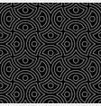 line art arabic seamless pattern vector image vector image