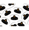 service cap of the captain with anchor decorative vector image vector image