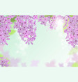 web banners with purple pink blue and vector image