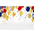 balloons header background design element of vector image