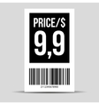 Barcode label - price tag