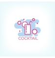 Cocktail logo concept design