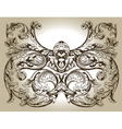 design ornament vector image