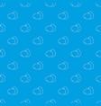 farm eggs pattern seamless blue vector image vector image