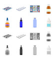 retail and healthcare vector image
