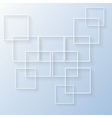 Squares Concept vector image vector image