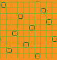 squares in grid chaotic seamless pattern 201 vector image vector image