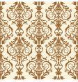 baroque illustration vector image vector image