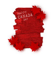 canada day design vector image