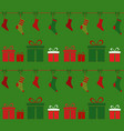 christmas backgroundgifts vector image vector image