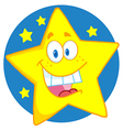 Happy Star vector image vector image