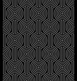 line art seamless pattern vector image vector image