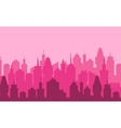 set cityscape background vector image vector image