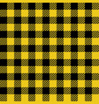 yellow lumberjack seamless pattern vector image