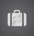 Case sketch logo doodle icon vector image vector image