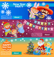 christmas carnival party matinee vector image