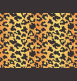 leopard texture seamless print with wild animal vector image