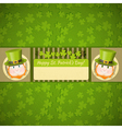 Patricks Day Retro Card vector image vector image